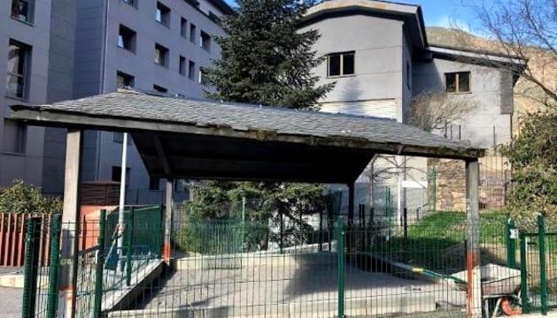 El nou pipicà comunal a Escaldes.