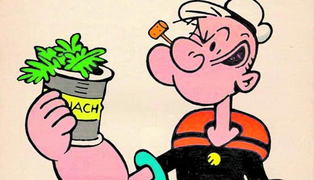 La veritable història de Popeye i els espinacs (I)