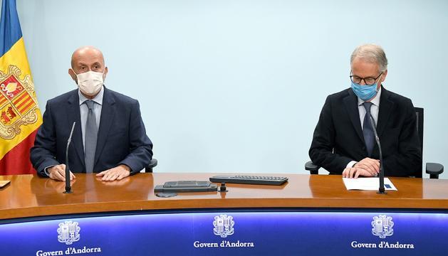 Joan Martínez Benazet i Josep Maria Piqué han presentat avui el nou model