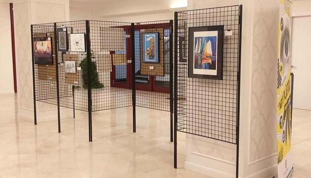 L'antic hotel Rosaleda acull 27 obres d'arts plàstiques