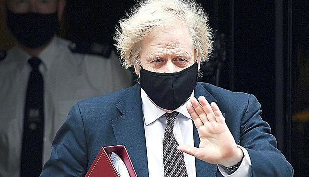 El primer ministre britànic, Boris Jonshon.