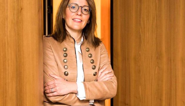 La directora d'Andorran Banking, Esther Puigcercós.
