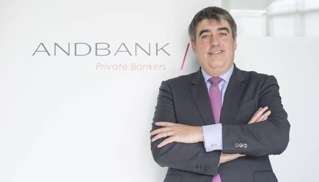 Carlos Aso és conseller delegat d'Andbank Espanya