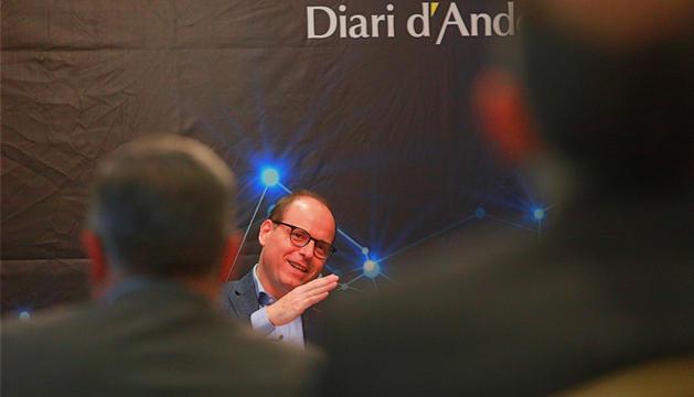 Cabero afirma que Andorra està en el punt de decidir on serà en 15 anys  El director general de BIC Europa ha participat aquest matí en la vuitena edició de l'Espai Diari d'Andorra - Deloitte