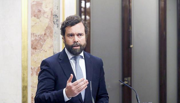 Espinosa de los Monteros, portaveu de Vox al Congrés.