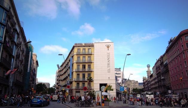 Cruïlla del carrer Bergara amb el carrer Pelai, on s'haurien produït els fets