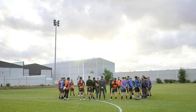 L'FC Andorra va entrenar a la ciutat esportiva de l'UD Extremadura.