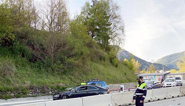 L'accident a la Serra de l'Honor.