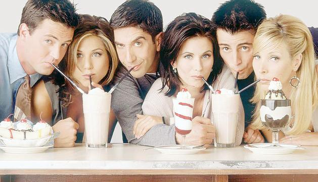 L'elenc de la mítica comèdia 'Friends'.