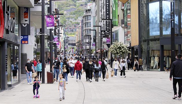 El turisme es recupera a l'eix central.