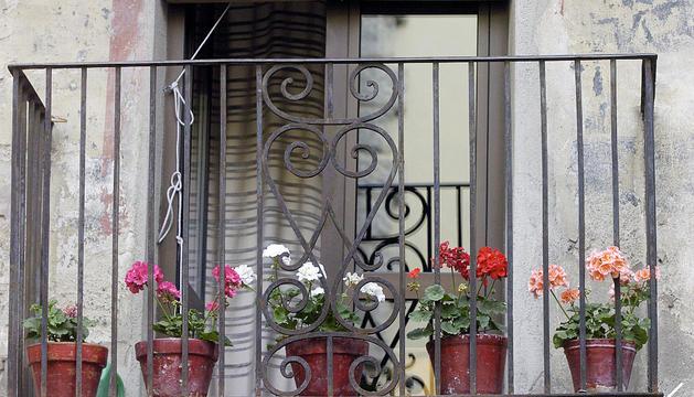Els balcons s'han omplert de flors durant la pandèmia.