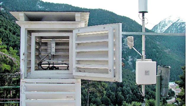 Les estacions meteorològiques d'Andorra