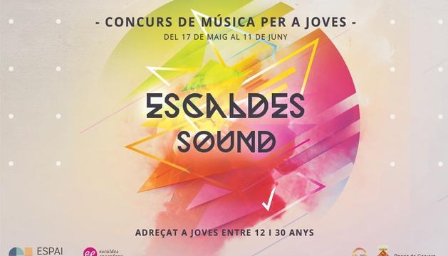 Cartell promocional de l'Escaldes Sound.