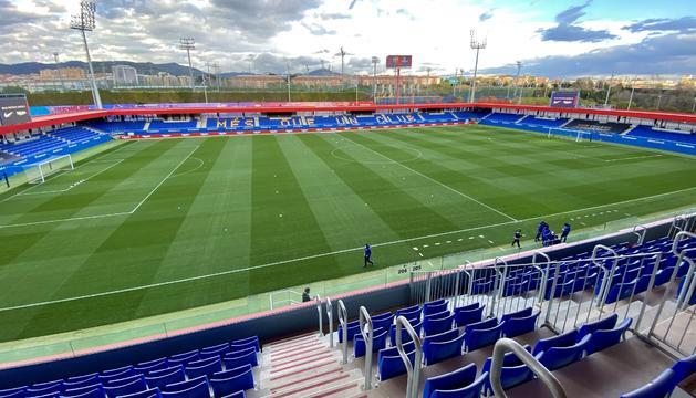 L'estadi Johan Cruyff de l'FC Barcelona.