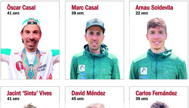 Equip nacional de curses de muntanya.