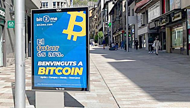 Un dels cartells a Andorra.