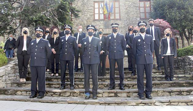 Els nous agents de circulació juren el càrrec