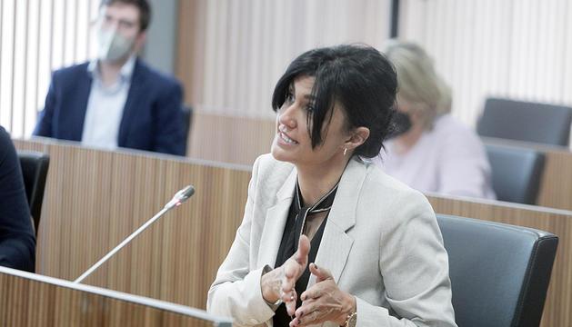 La consellera Carine Montaner va traslladar al ministre el neguit d'Andorra Lírica per l'expedient.