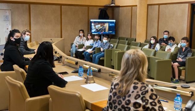 Sessió de Consell d'Infants d'aquest matí