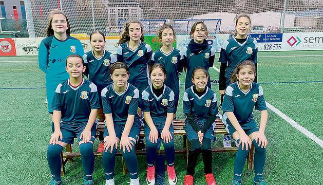 L'FCSanta Coloma benjamí-aleví ha fet una gran temporada.