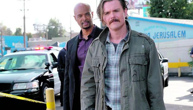 Els protagonistes de la sèrie 'Arma letal'.