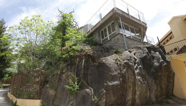 L'edifici del Roc, a Ciutat de Valls, que es rehabilitarà aquest estiu.