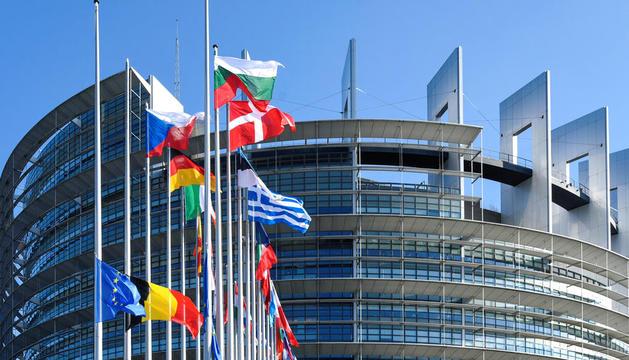 La seu del Parlament Europeu.