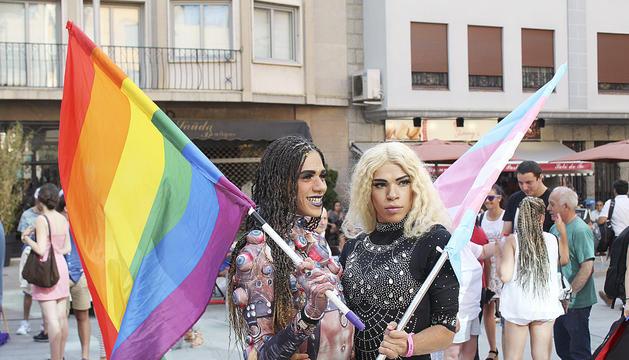 Un instant de la festa Pride que es va celebrar a Andorra fa dos anys.