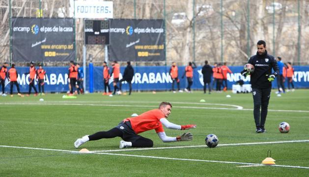 Miguel Bañuz s'acomiada de l'FC Andorra després de dues temporades