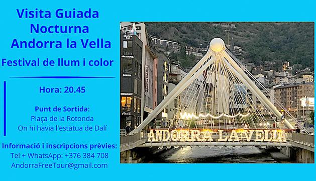 Visita guiada nocturna a Andorra la Vella