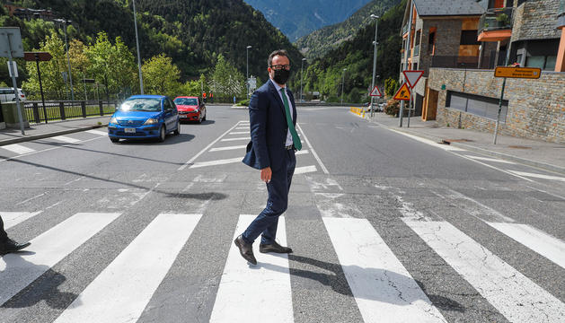 El Govern aparca el vial de la Massana