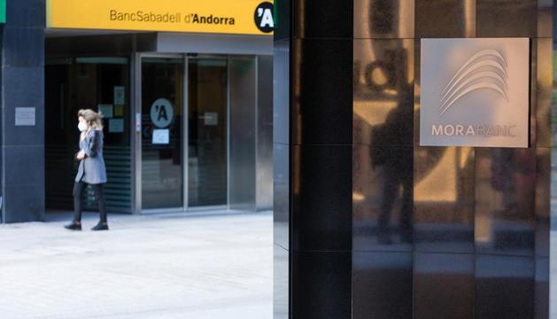 Una oficina del BancSabadell.