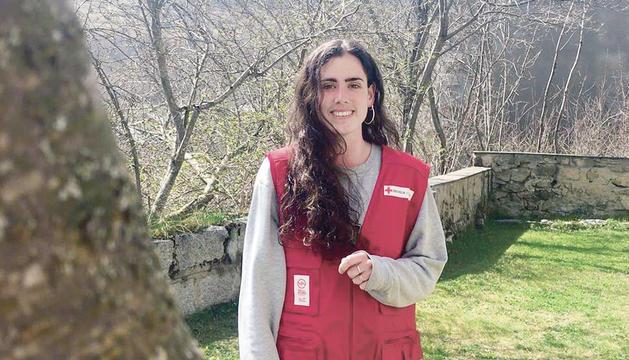 La coordinadora de la secció jove de la Creu Roja, Marta Patxot.