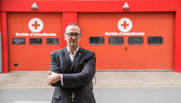 Josep Pol, president de la Creu Roja.