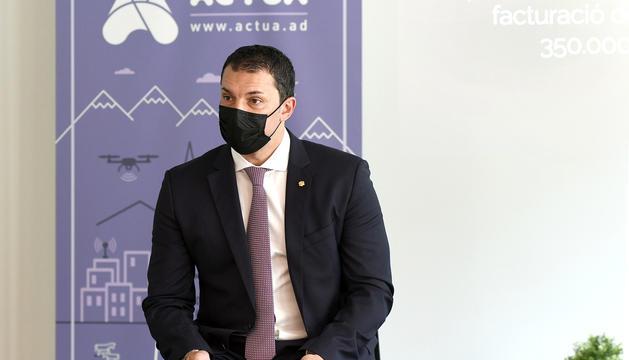 El president d'Actua Empresa, Jordi Gallardo.