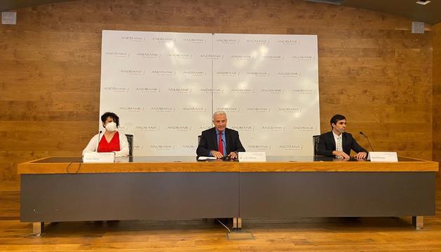 Presentació de l'aliança pel tax free entre Andbank i Woonivers