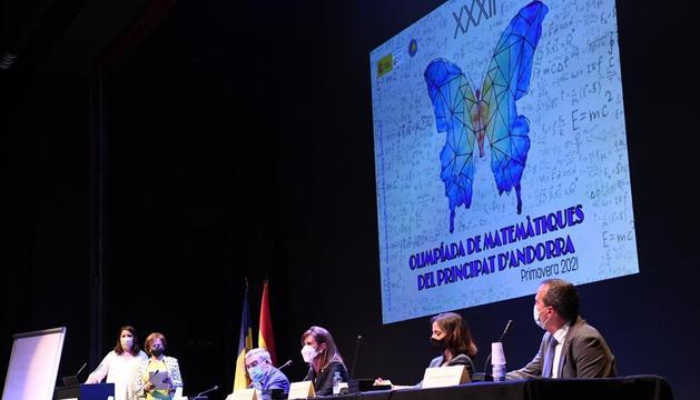 La ministra d'Educació i Ensenyament Superior, Ester Vilarrubla, ha presidit l'acte