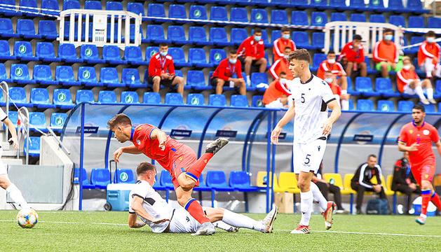 La selecció sub-21 va caure 0 a 3 contra Albània a l'Estadi Nacional.