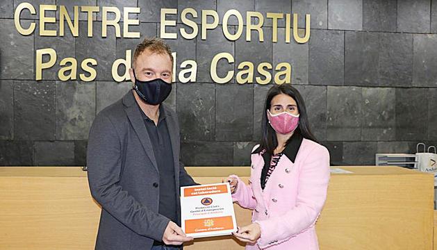 Cristian Pons i Laura Mas.