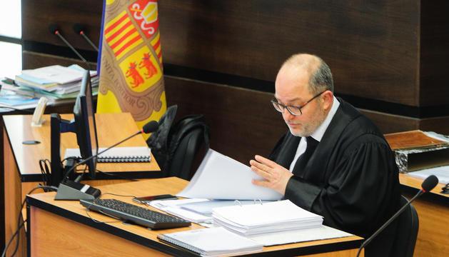 El Tribunal de Corts ha desestimat la querella contra Alfons Alberca