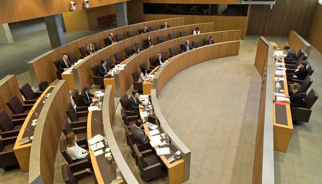 Una sessió al Consell General.