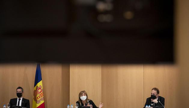 Sessió de Consell de Comú d'Andorra la Vella, al Centre de Congressos.
