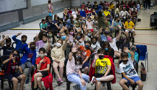 Prop de 300 nens al concert de la Suu