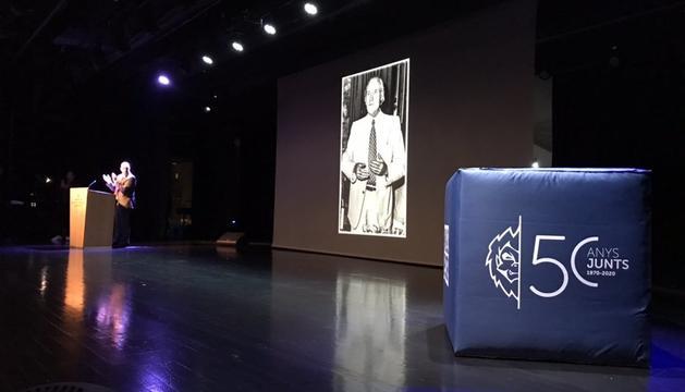 Homenatge a Joan Alay, fundador del club