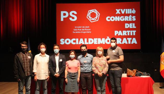 La nova executiva del Partit Socialdemòcrata