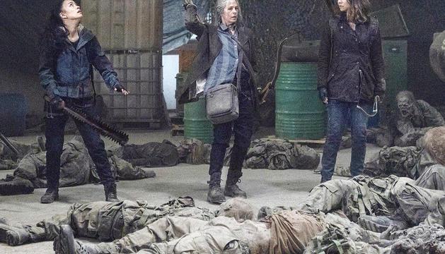 Un moment de l'onzena temporada de 'The Walking Dead'.