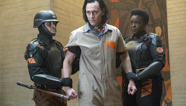 Un moment de 'Loki', la nova sèrie de l'univers Marvel estrenada per Disney+.