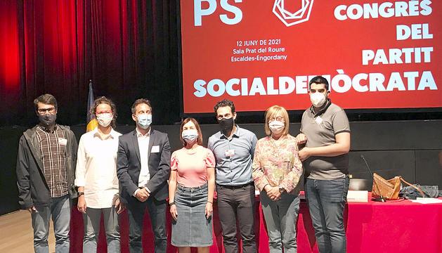 La nova executiva del Partit Socialdemòcrata després del 18è congrés.
