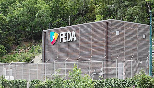 Instal·lació de FEDA.