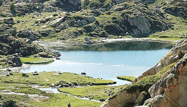 Vista de la vall del Madriu-Perafita-Claror.
